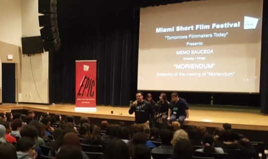 Students Get Crash Course Making Films From Local Director